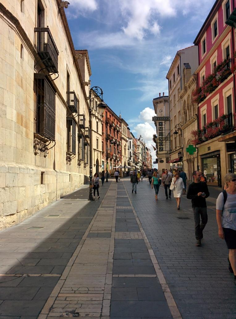 Calle Ancha, Leon Spain
