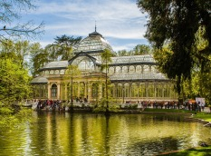 The Cyrstal Palace in the Retiro park